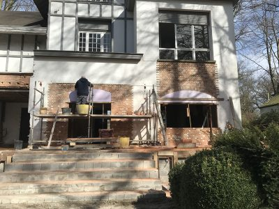 Totaalrenovatie van villa met aanbouw